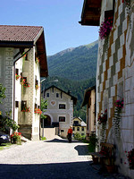 Scuol - Side Street