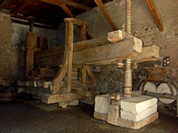 Wine Press in the Convent (Trotte)